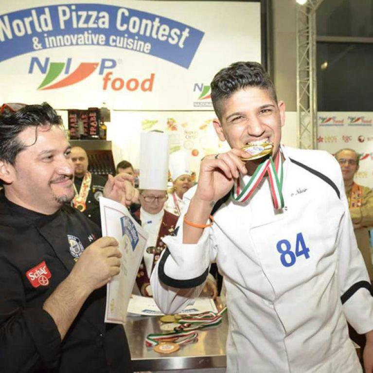 Giorgio Nazir e la medaglia